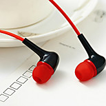 WHF-129 3.5mm Noise-Cancelling Mike In Ear Earphone for Iphone and Other Phones(Assorted Colors)