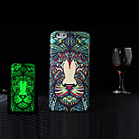 Animal 1 Style Pattern Noctilucent Style Embossed Feel Mobile Phone Protection Case Cover for iPhone 5/5S