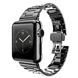 Stainless Steel Watch Strap For Apple Watch Band Adapter Metal Connector For iWatch 38mm with Strap Regulator Open Tool