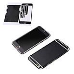Teste padrão de couro de venda quente filme de corpo inteiro decalque protetor traseiro para iphone 6 / 6s (cores sortidas)