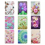 Painted Flowers 360 Degree Rotating Mini Protective Holster for Ipad Mimi4