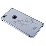 iPhone6 blanco plus caso grafeno anti-radiación del teléfono refrigeración adhesivo caso ignífuga para iPhone6 más