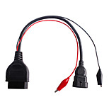 Fiat 3pin Alfa Lancia to 16 Pin Diagnostic Cable Fiat 3pin To 16pin OBD2 obdii connector Adapter Cable