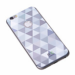 Shining Slivery iPhone6 Plus Case Anti-radiation Graphene Cooling Phone Stickers Case Cover for Apple iPhone6 Plus