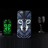 Tiermuster 1-Stil geprägt fühlen schwarze Fluoreszenz Handytaschen Schutzhülle für iPhone 5 / 5s