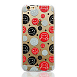 Disney Big Hero 6 Baymax Bubbles Transparent TPU Soft Back Cover for iPhone 6/6S