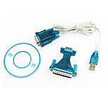 Ourspop IT232 USB to RS232 Serial DB9 9 PIN VISTA Cable Adapter