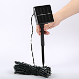 King Ro 8M 60LED 2Mode Solar String Lights Christmas Wedding Party Decor Lights