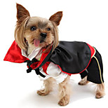 Hot Selling Pet Clothes Vampire Cosplay  Hoodies For Dogs / Cats