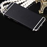 Modelo de cuero negro puro cine de todo el cuerpo calcomanía protector personalizado para el iPhone 4 / 4S