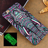 Animal 3 Style Pattern Ultra-thin Luminous Fluorescence Phone Back Cover Hard Case for iPhone 5/5S