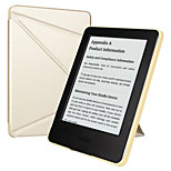 ESR Yippee Color Series Patented Tri-fold Design Glare-Free PU Leather Magnetic Smart Case for Kindle 7th Gen-Gold