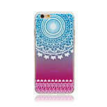 Rainbow Wind chime Style Transparent Soft TPU Back Cover for iPhone 5/5S