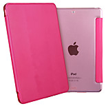 ESR Yippee Color Series Light Weight Tri-fold Protective PU Leather Case for iPad Mini 3/2/1-Rosy Red