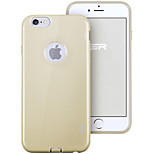 ESR® yippee color de la serie alc perfecta caso ultra fino ajuste suave del tpu para el iphone 6 / 6s Champagne de oro