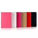 Lussuoso caso 7.9 pollici modello di griglia di alta qualità cuoio dell'unità di elaborazione per ipad mini 4 (colori assortiti)