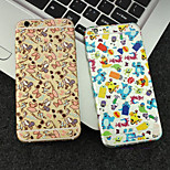 Front+Side+Back Full-Body 3D Cartoon Screen Sticker for iPhone 6 Plus/6S Plus(Assorted Colors)