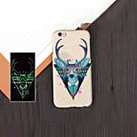Monster 2 Muster noctilucent Stil geprägt fühlen Handy-Schutzhülle für das iPhone 5 / 5s