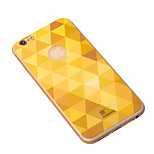 Shining Golden iPhone6 Plus Case Anti-radiation Graphene Cooling Phone Stickers Case Cover for Apple iPhone6 Plus