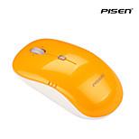 Pisen Wireless Optical F100 Mouse 2.4G Nano Cordless Receiver 800/1600 DPI PC Laptop Desktop