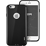 ESR® Yippee Color ALC Series Perfect Fit Ultra Thin Soft TPU Case for iPhone 6/6S -Mysterious Black