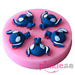 Stitch Dog  Fondant Cake Cake Chocolate Silicone Molds,Decoration Tools Bakeware