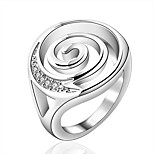 Women's Vintage Annular 925 Silver Plated Ring
