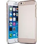 Capshi Transparent Pattern Plastic Waterproof Back Case  with Kickstand for iPhone6