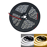 JIAWEN® 5M 300-5050 SMD 4800lm 3000-3200K / 6000-6500K Warm White / white Light LED Strip Light (DC12V /5M)