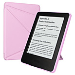 ESR Yippee Color Series Patented Tri-fold Design Glare-Free PU Leather Magnetic Smart Case for Kindle 7th Gen-Purple