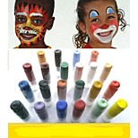 Often®24 Color Halloween Regular Colors Face Paint Hypoallergenic, non-toxic, and easy to remove(1PCS)