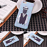 Fashion Ultra-thin Monster 1 Pattern Luminous Fluorescence Phone Back Cover Hard Case for iPhone 6 Plus 5.5 inch