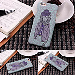 Ultra-thin Monster 1 Pattern Luminous Embossed Feel Phone Back Cover Protective Shell/Skin for iPhone 6 4.7 inch