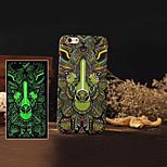 Mode-ultra-dünnen noctilucent Stil Handy-rückseitige Abdeckung des Schutzfälle für iphone 5 / 5s