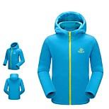 Winter Windproof Very Warm Thicken Thermal Fleece Kids Hoodies Jacket 3 Colors