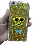 hellen Blitz pulverGlasLächeln Gesichtsentwurf TPU weiche Fallabdeckung für iphone 5 / 5s (verschiedene Farben)