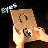 Charming Big Eyes PU Protective Case Cover with Stand for iPad Mini 4(Assorted Colors)