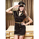 Halloween / Christmas / Carnival / Oktoberfest Female Police Unifroms Costumes Dress / Cravat / Belt / Hats
