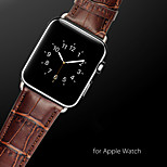 Fashion Leather Grain Watch Band Strap For Apple Watch 42mm