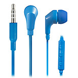 WHF-119 3.5mm Noise-Cancelling Mike In Ear Earphone for Iphone and Other Phones(Assorted Colors)