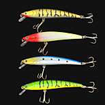 Esche rigide / Pesciolini 10 g Oncia mm pollice 4 pcPesca di mare / Pesca a mulinello / Pesca di acqua dolce / Pesca con esca / Pesca