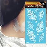 King Horse® India  Tattoo Stickers  Non Toxic/Henna/Hawaiian/Waterproof Flower Series Paper 5pcs 20.5*10cm
