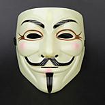 Women/Men Halloween Horror Mask V for Vendetta Mardi Gras Masquerade Party Ball Mask Party Costume CJCws0025