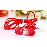 keeka 3,5 mm de haute qualité anti-bruit Mike dans l'oreille des écouteurs pour iPhone et autres téléphones (couleurs assorties)