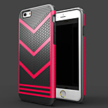 Double Color 2 in 1  All edge fully enclosed TPU + PC Case for iPhone 6