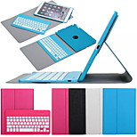 360° Rotation Split Detachable Bluetooth Keyboard Leather Case with Stand for iPad mini