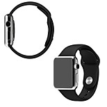 New Original Design Silicone Band With Connector Adapter For Apple Watch 42mm Strap For iWatch Sports Buckle Bracelet