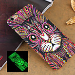 Fashion Ultra-thin Animal 3 Style Pattern Noctilucent Mobile Phone Back Cover Protective Case for iPhone 6 Plus 5.5 inch