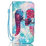 Angel Pattern PU Leather Phone Case for iPhone 6/6S