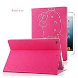 Cute Cat PU Leather Case Cover for iPad mini 1/mini 2/mini 3(Assorted Colors)